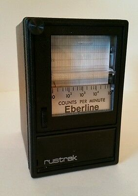 Eberline Counts Per Minute rustrak RA31000156116 03B91838 120V 60hz
