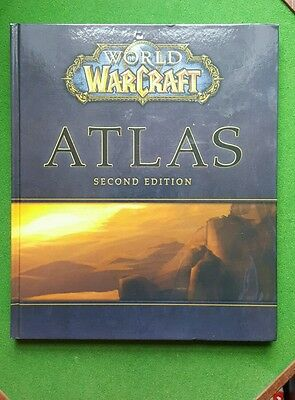 World Of Warcraft Atlas Second Edition Strategy Guide Brady Games Blizzard