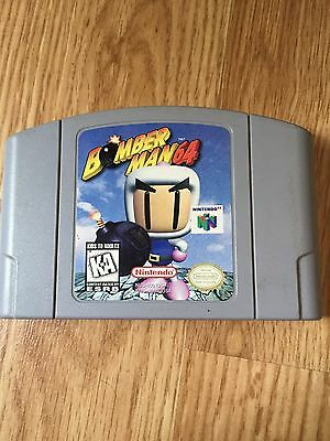 Bomberman 64 Nintendo 64 N64 Game Cart Good Tested Works NG1