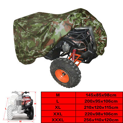 190T WaterProof Quad Bike Tractor ATV ATC Cover for Yamaha Breathable M-XXXL