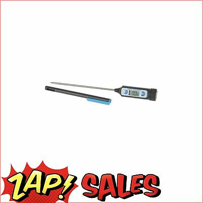 Digital Thermometer Probe Type For Kitchen Lab Bbq 205Mm Long