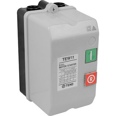 NEW DOL Starter 440V 5.5kW Each electrical, IP65, motor, Direct on line starter