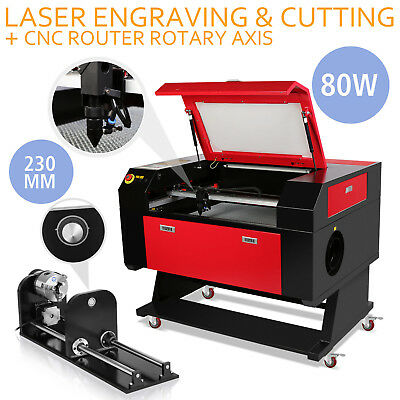 80W Laser Engraving Machine Rotary Axis 700X500Mm 230Mm Track  F Style Wholesale