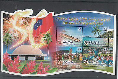 Samoa 2012 MNH Independence Celeb 50th Anniv 4v M/S Cultures Ethnicities Stamps