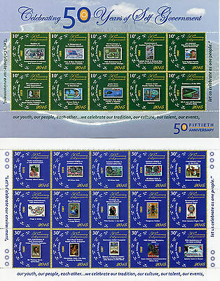 Cook Islands 2015 MNH Self-Government 50th An 50v 4 M/S Churchill Royalty Stamps