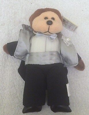 Beanie Kid - BK461 Beau the Bear BNWT