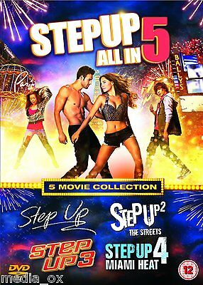 Step Up - The Complete 1 2 3 4 & 5 Film Box Set Collection 1-5 | New | DVD