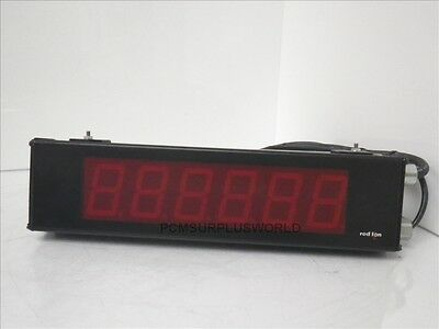 RED LION LD OEMKH001 large display counter 6 digits *USED & TESTED*