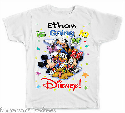 Personalized Going To Disney Vacation T-Shirt