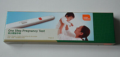 1 Step Pregnancy Test & Instructions Fast Simple Accurate Discreet Packing USA