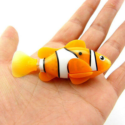 Fashion Swim Robofish Activated Battery Powered Robo Fish Toy Fish Robotic Pet