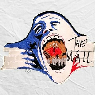 Pink Floyd The Wall Film Cover Big Embroidered Patch Roger Waters Scream Back