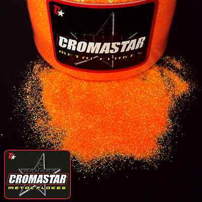 Metal Flake Orange Automotive Paint