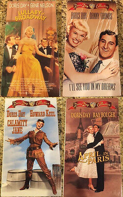 Calamity Jane/See You in My Dreams/Lullaby of Broadway/April in Paris - VHS Lot