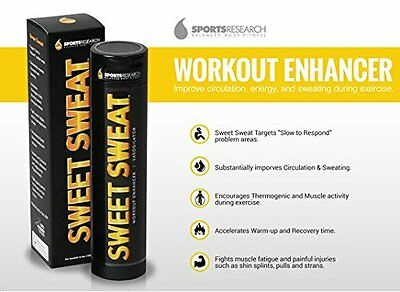 SWEET SWEAT STICK 6.4 oz (182g) Workout Enhancer Gel FREE SHIPPING