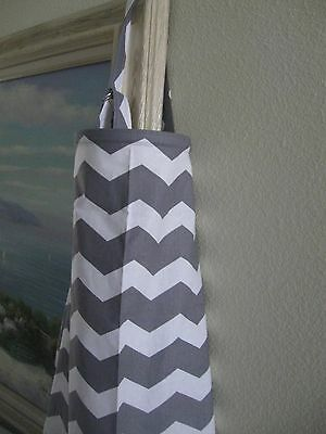 NEW  >NURSING COVER  hider* BREASTFEEDING COVER Up Chevy White Gray