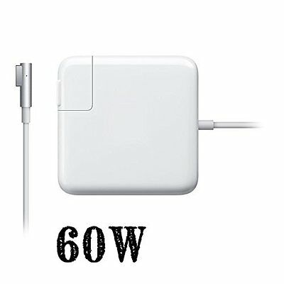60W AC Power Adapter charger Magsafe1 L for Apple Mac Macbook Pro 13 A1184 A1344