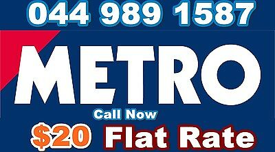 $15 Flat Rate Metro Express Courier Same Day Urgent Delivery