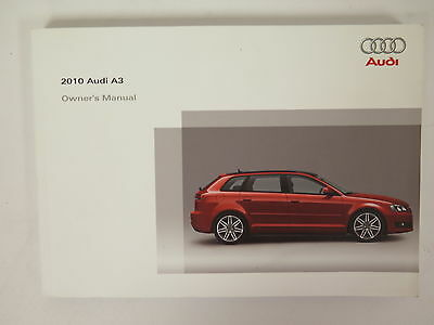 2010 Audi A3 Owners Manual Guide Book
