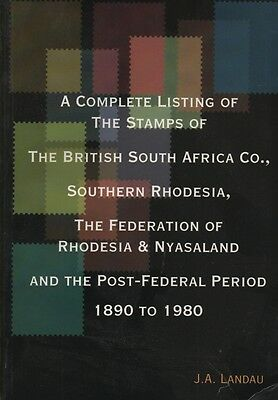 Stamp Catalogue - Stamps of British South Africa 1890-1980 by Landau