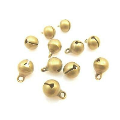 Bell Charm/Pendant Tibetan Gold 12mm  15 Charms Accessory DIY Jewellery Making