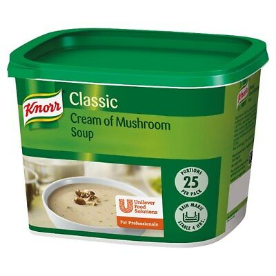 Knorr Classic Cream of Mushroom Soup Mix 25 Portions