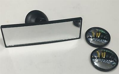 Blind Spots & Small Wide Angle Rear View Interior Suction Mirror Child Safety