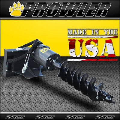 Bobcat Extreme Duty Mini Skid Steer Auger Drive with 9 Inch Round Collar Bit