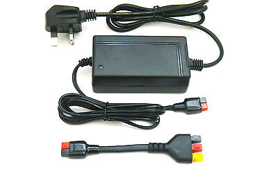 Battery Charger for Powakaddy C/w Latest PLUG 'n' PLAY™ Adapter - 2 Yr Warranty