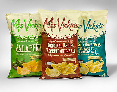Canada Miss Vickies chips 200g bag - Multiple Flavours