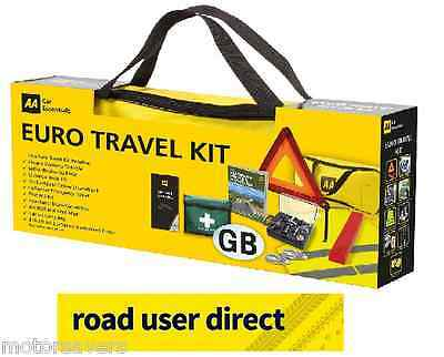 AA Car Euro Travel Kit - Required If Driving Abroad - Free Tracked Postage