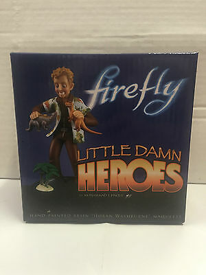Quantum Mechanix Firefly Little Damn Heroes Wash Maquette - Brand new Limited Ed