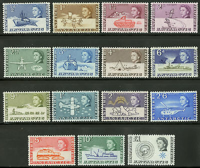 British Antarctic Territory   1963  Scott # 1-15  MLH Set