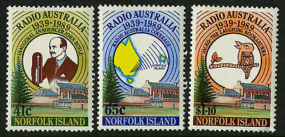 Norfolk Island  1989   Scott # 466-468  MNH Set