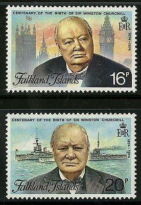 Falkland Islands  1974   Scott #235-236   Mint Never Hinged Set