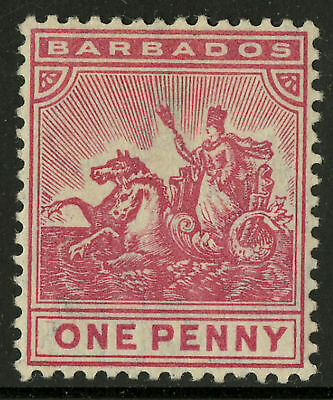 Barbados  1904-10   Scott #93    MLH