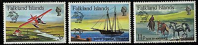 Falkland Islands  1979   Scott #295-297   Mint Never Hinged Set