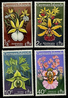 Cayman Islands   1971   Scott # 287-290   MNH-MLH Set