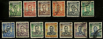 Southern Rhodesia  1937   Scott # 42-54  USED Set
