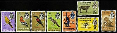 Bechuanaland  1961  Scott # 180-192  MLH Part Set