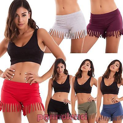 shorts woman shorts FRINGES low waist skinny sexy hot pant new AS-7262