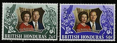 British Honduras   1972   Scott # 306-307  MNH Set