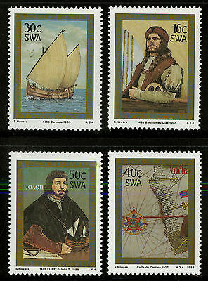South West Africa  1988  Scott # 594-597  MNH Set