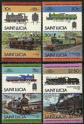 St Lucia   1985   Scott # 774-777   MNH Set