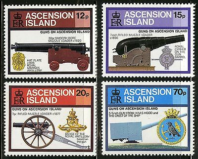 Ascension  1985   Scott # 368-371  MNH Set