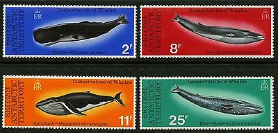 British Antarctic Territory   1977   Scott # 64-67   MNH Set