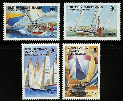 Virgin Islands   1989   Scott #631-634   MLH Set
