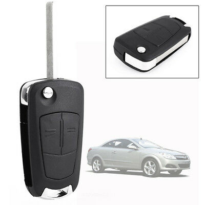 2 Button Remote Flip Key Fob Case For Vauxhall Opel Corsa Astra Vectra Zafira