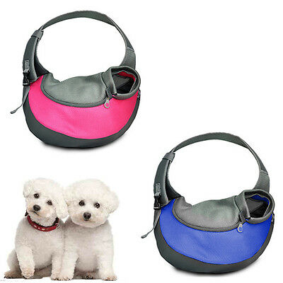 Dog Pet Cat Puppy Sling Tote Single Shoulder Carrier Carry Bag Pouch