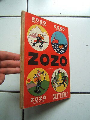 Franchi /  Zozo Roi Des Neiges  + Marin + Officier + Cricky Rockey / 1947  +
